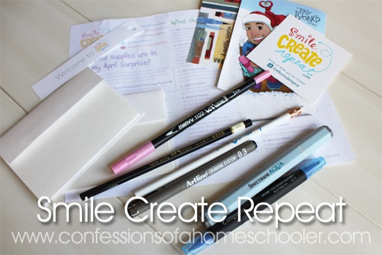 Smile Create Repeat Review & Giveaway