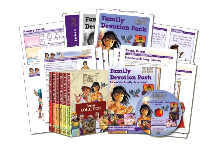 Family Devotion Pack Giveaway