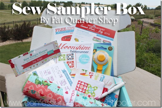 Sew Sampler Box Review