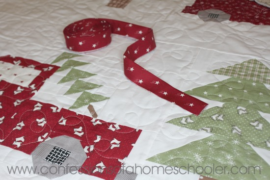 Vintage Christmas Quilt Pattern Confessions Of A Homeschooler