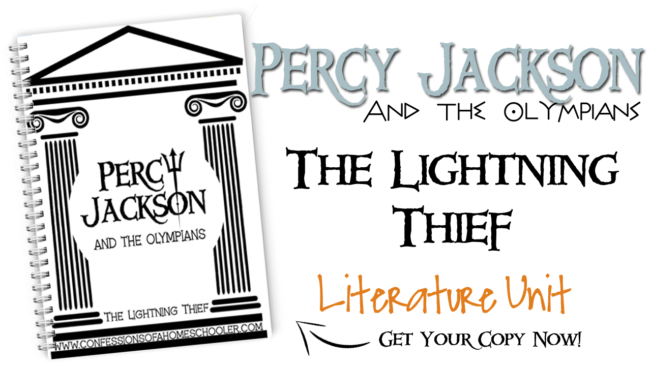 Percy Jackson Literature Unit