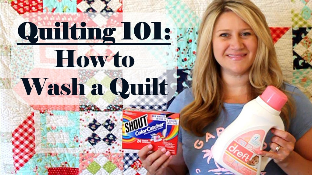 Quilting 101: How to Wash a Quilt