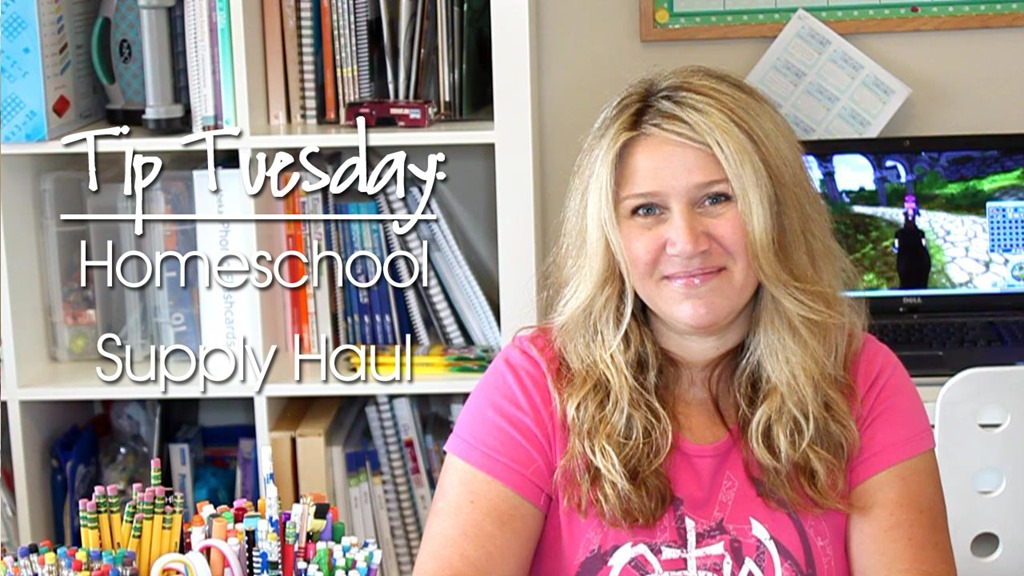 2016-2017 Homeschool Supply Haul