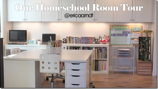 Our Homeschool Room Tour 2016
