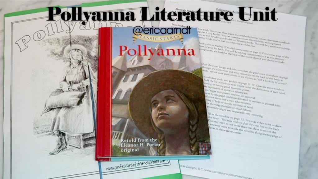 Pollyanna Literature Unit Study