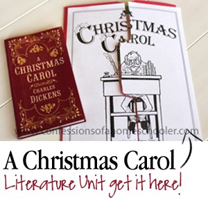 A Christmas Carol Lit Unit