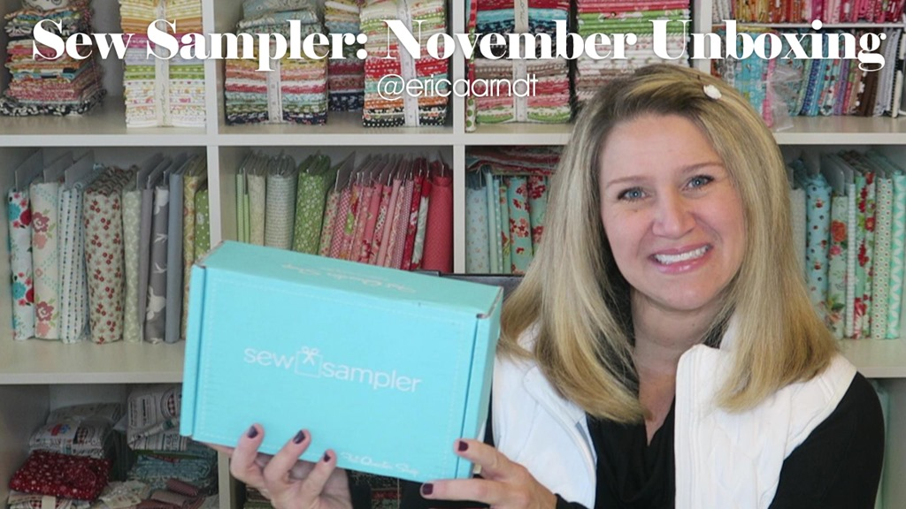 November Sew Sampler Unboxing