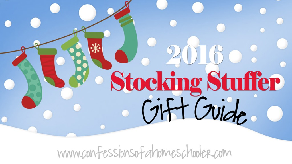 2016 Stocking Stuffer Gift Ideas