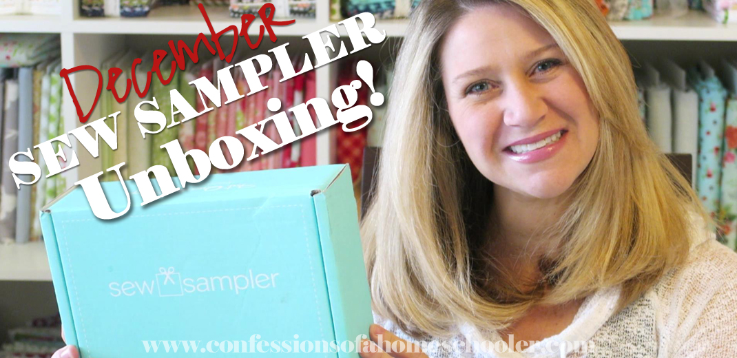 2016 December Sew Sampler Unboxing