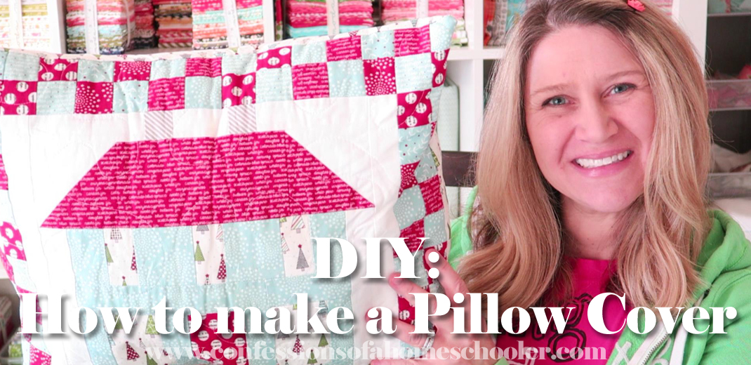 DIY: How to Make a Pillow Cover