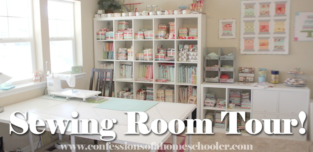 Sewing Room Tour Confessions of a Homeschooler