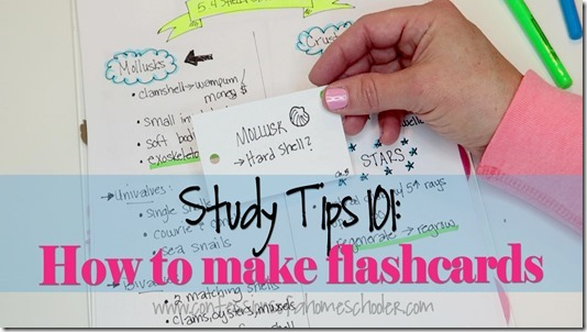 Study Tips #2: How to Create Useful Study Tools (a.k.a. Flashcards!)