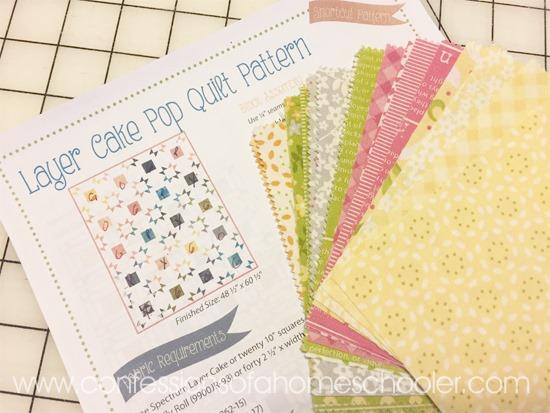 Layer Cake Pop Quilt Pattern