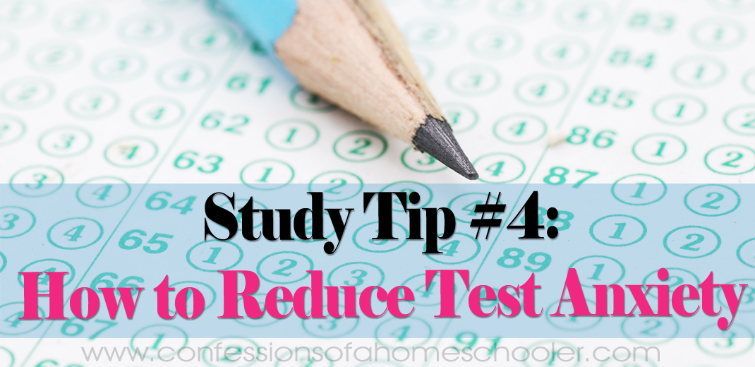Study Tips #4: How to Prepare for Exams & Reduce Test Anxiety
