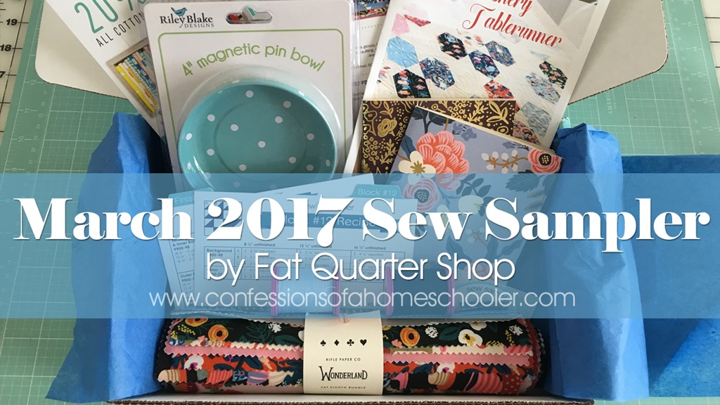 March 2017 Sew Sampler Unboxing & Giveaway!