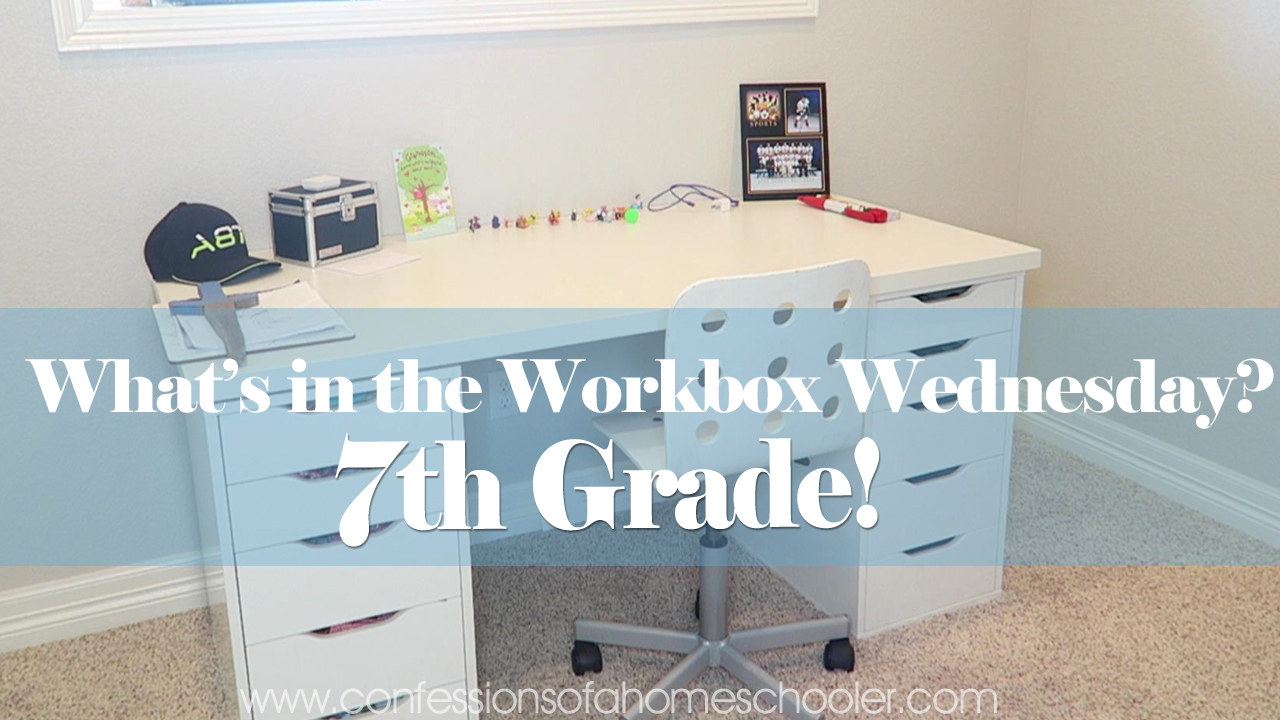 What's in the Workbox: 7th Grade 2017