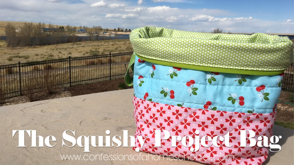 Zippered Knitting Project Bag Tutorial : The squishy project bag tutorial confessions of a