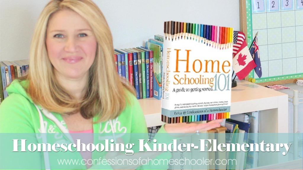 Tip Tuesday: Homeschooling Kindergarten & Early Elementary