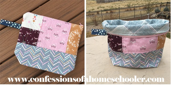 The Squishy Project Bag Tutorial Confessions Of A Homeschooler