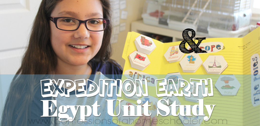 Expedition Earth Egypt World Geography Unit Study