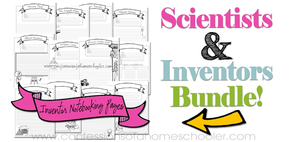 Scientist & Inventor Notebooking Pages