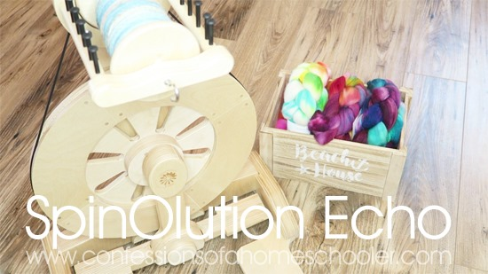 SpinOlution Echo Review, Spinning Tips & Fiber Haul!