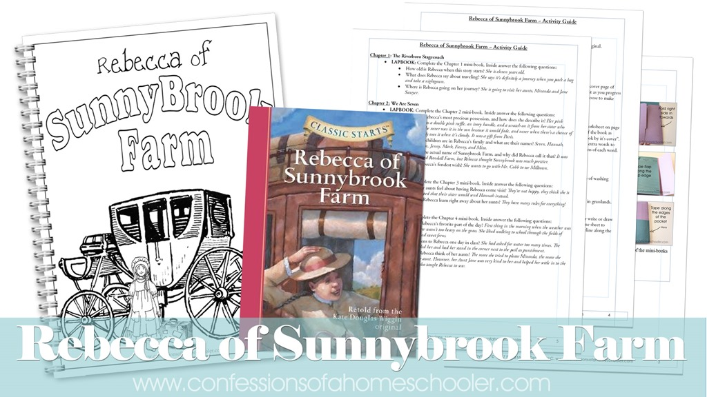 Rebecca of Sunnybrook Farm Literature Unit Study