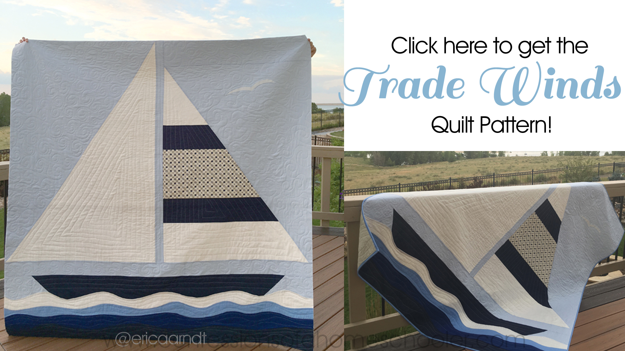Trade Winds Quilt Pattern & Sale!!