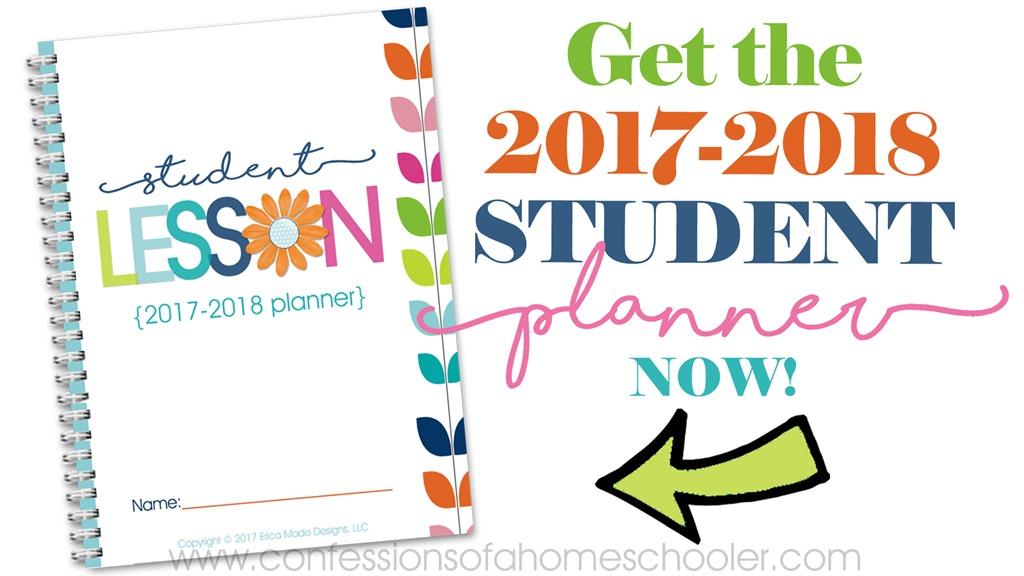 2017-2018 Student School Planner