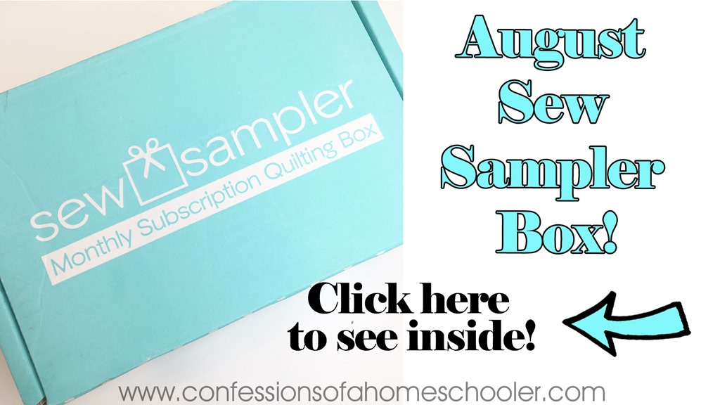 August 2017 Sew Sampler Un-boxing!