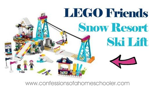 LEGO Friends New Winter Kits!