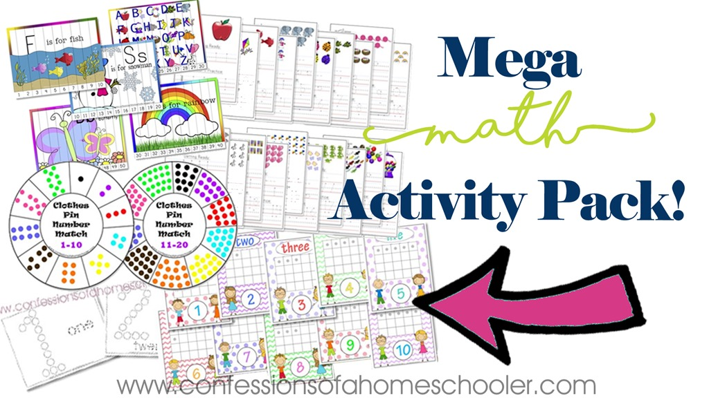 Mega Math Bundle for Kids!