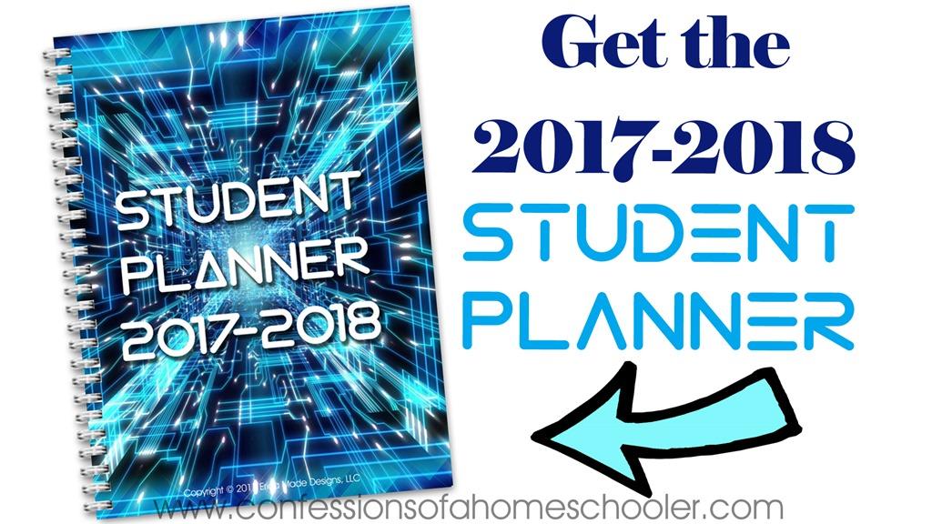 2017-2018 Blue Student Planner