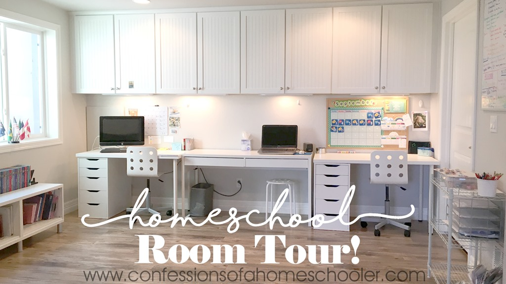 2018 Homeschool Room Tour