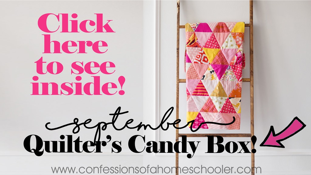 September 2017 Quilter's Candy Box