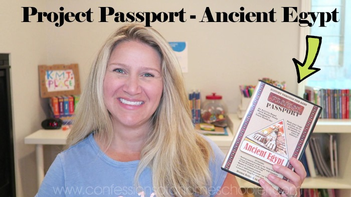 Project Passport Ancient Egypt Review & Giveaway!