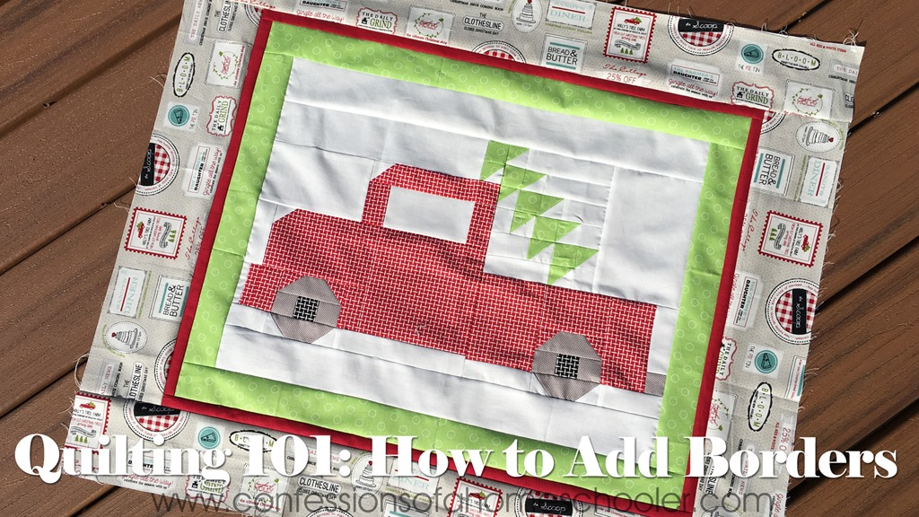 Quilting 101: How to Add Borders