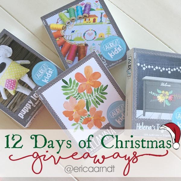 Aurifil Kids Thread Kits Christmas Giveaway