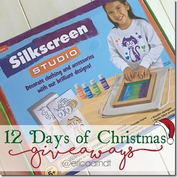 Lakeshore Learning Silk Screen Studio Christmas Giveaway