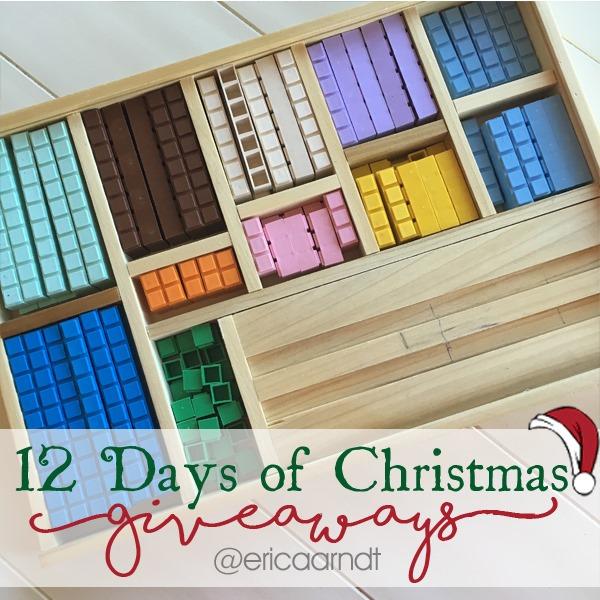 Math U See Integer Block Kit Christmas Giveaway