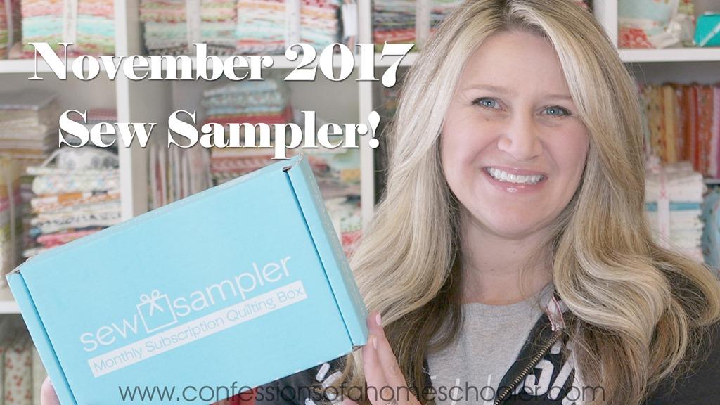 November 2017 Sew Sampler Unboxing