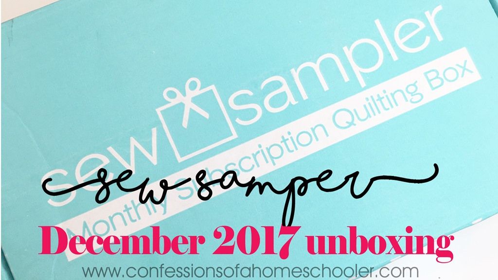 December 2017 Sew Sampler Unboxing