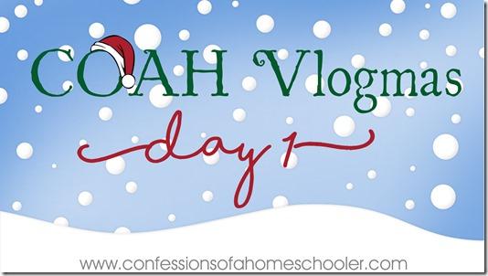 I'm doing Vlogmas!!
