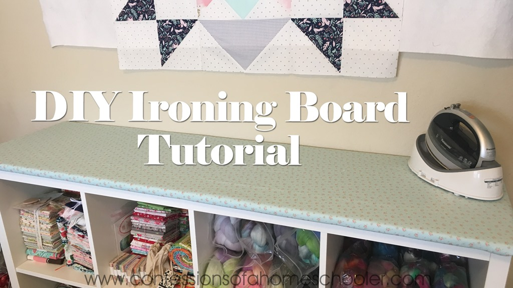 DIY Ironing Board Tutorial