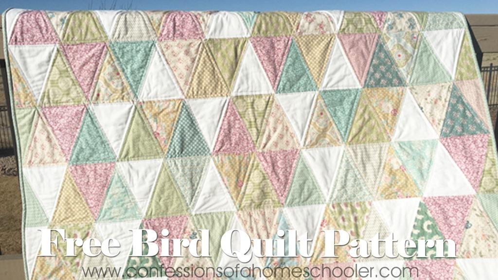 Free Bird Quilt Pattern