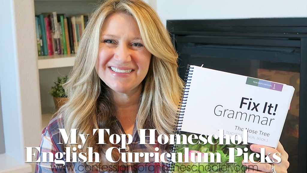 My Top English Homeschool Curriculum Picks