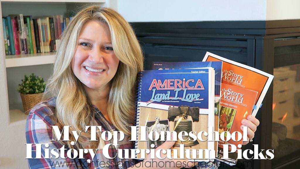 Our Top Homeschool History Curriculum Picks