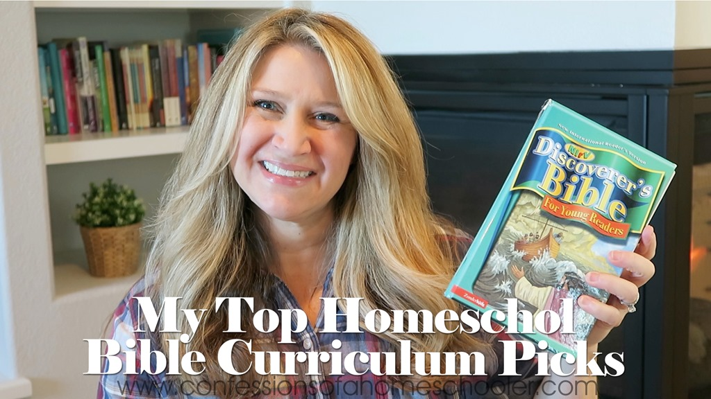 Our Top Homeschool Bible Curriculum Picks!