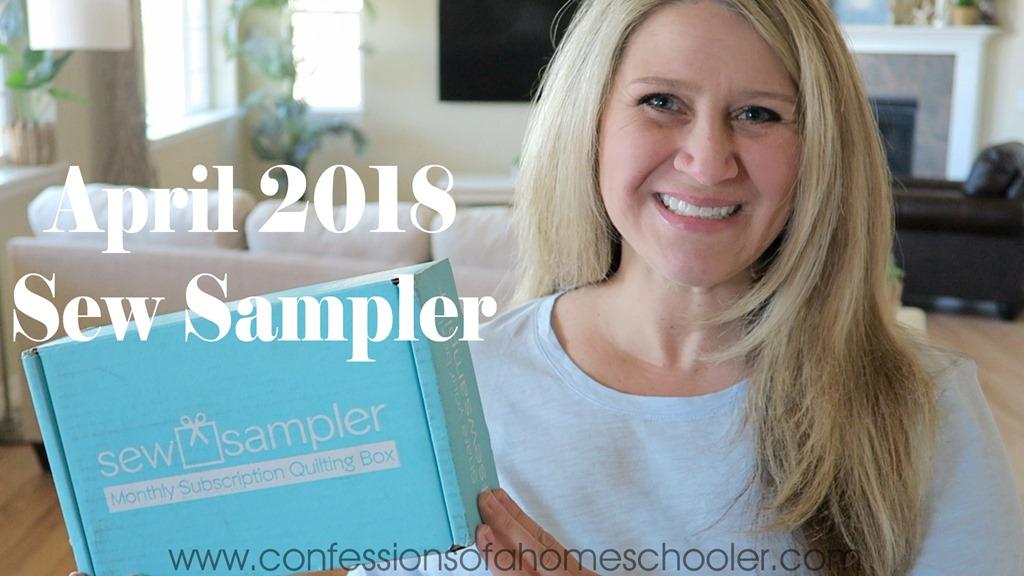 April 2018 Sew Sampler Unboxing!