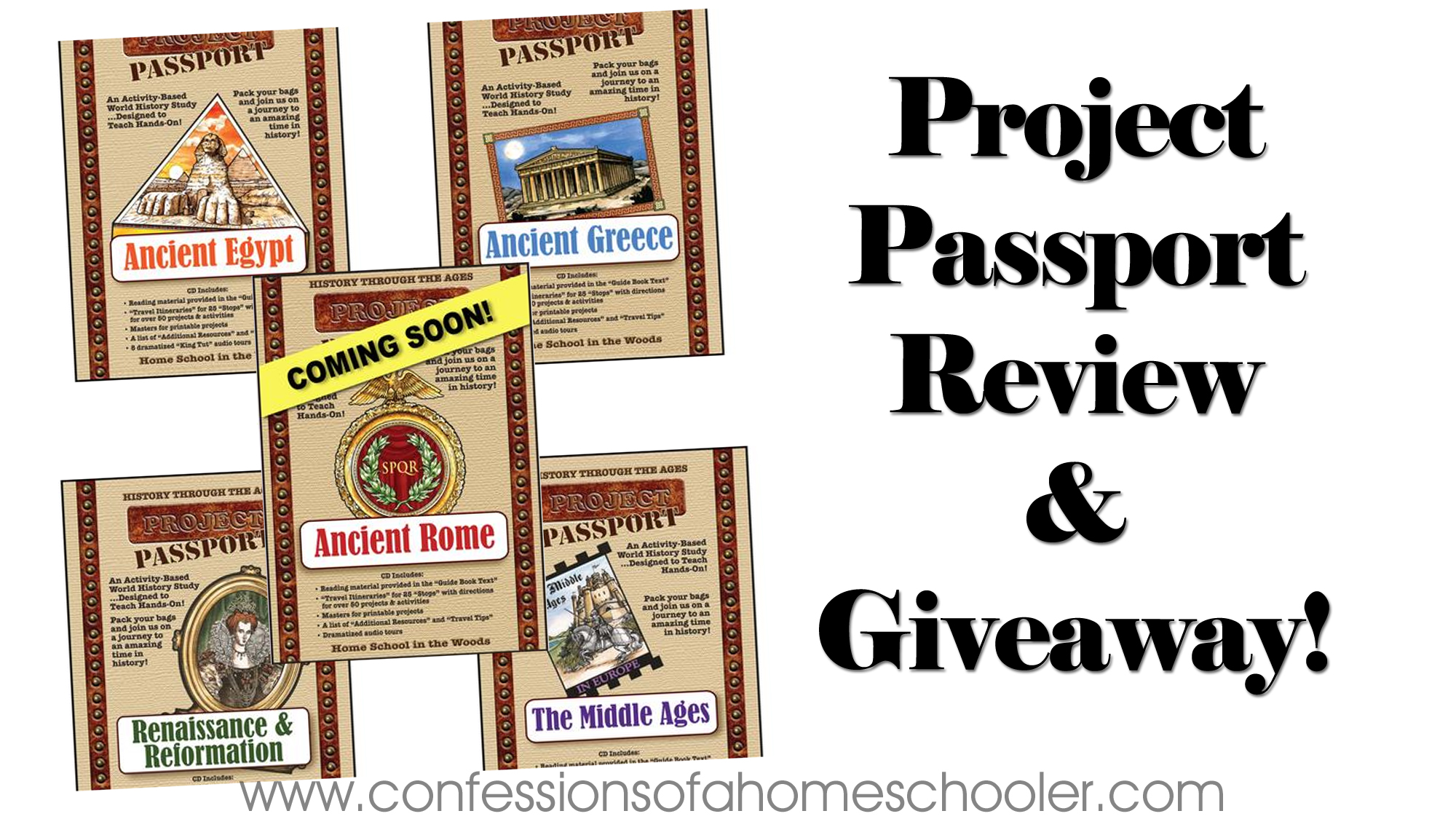 Homeschool in the Woods Review and Giveaway!